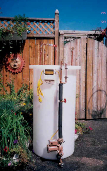 Canadian model water heater
